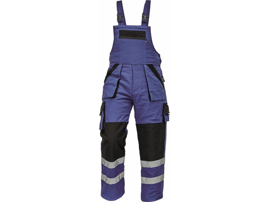 MAX WINTER RFLX zimní kalhoty s laclem modré (Velikost/varianta 64)