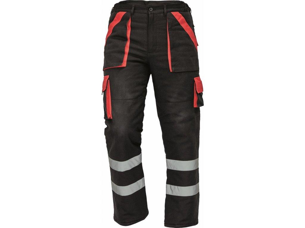MAX WINTER RFLX zimní kalhoty černé (Velikost/varianta 64)