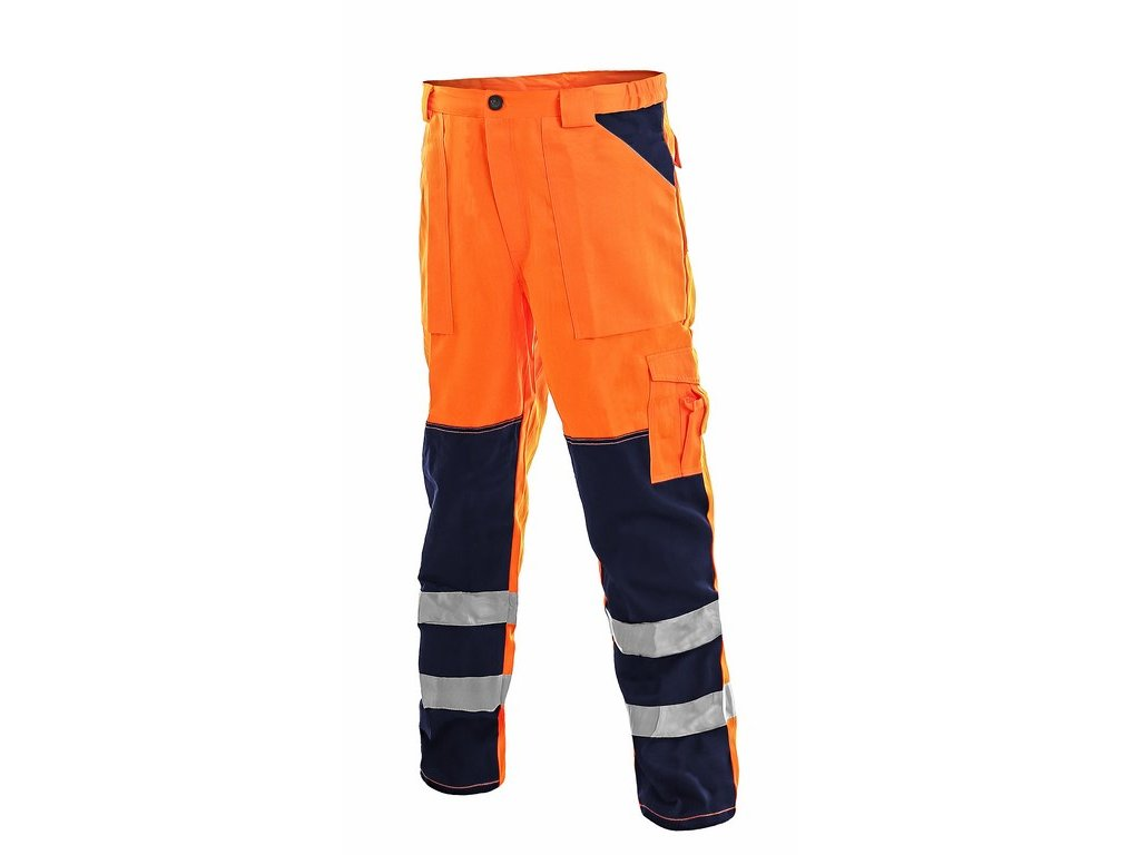 NORWICH výstr.kalhoty do pasu oranž.- modré (Velikost/varianta 64)