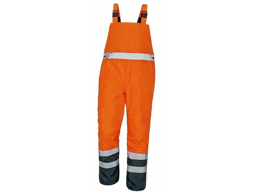PADSTOW reflexní kalhoty s laclem ref.oranžová (Velikost/varianta 3XL)