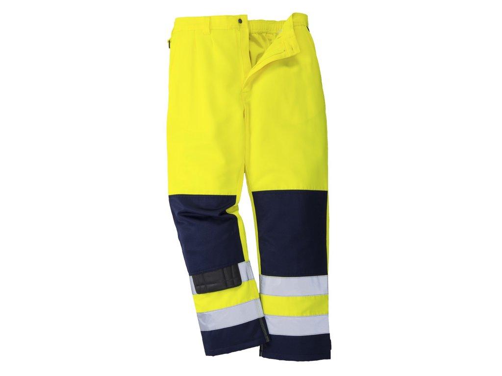 SEVILLE TX71 reflexní kalhoty žluté (Velikost/varianta 3XL)
