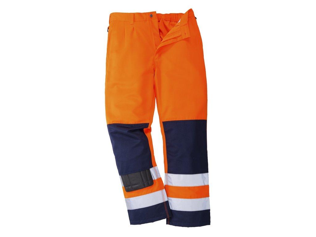 SEVILLE TX71 reflexní kalhoty oranžové (Velikost/varianta 3XL)