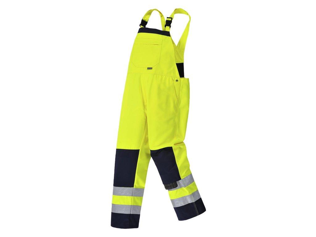 GIRONA TX72 reflexní laclové  kalhoty žluté (Velikost/varianta 3XL)