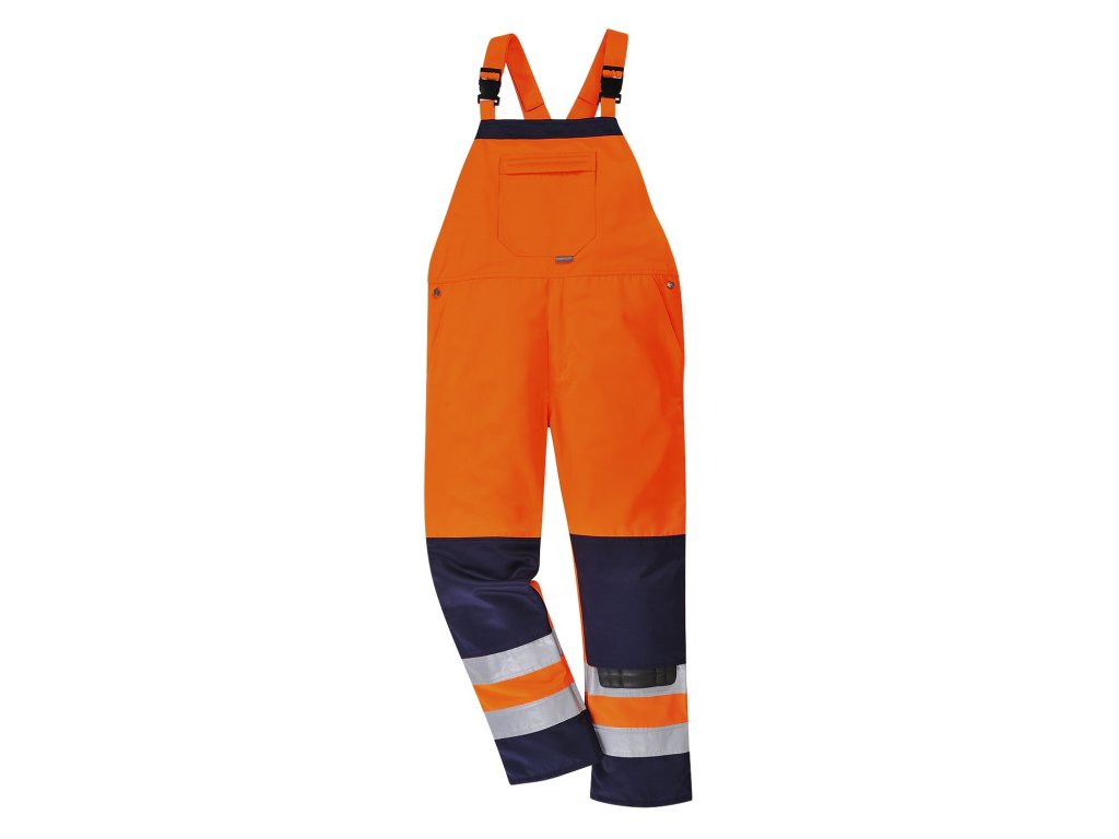 GIRONA TX72 reflexní laclové  kalhoty oranžové (Velikost/varianta 3XL)