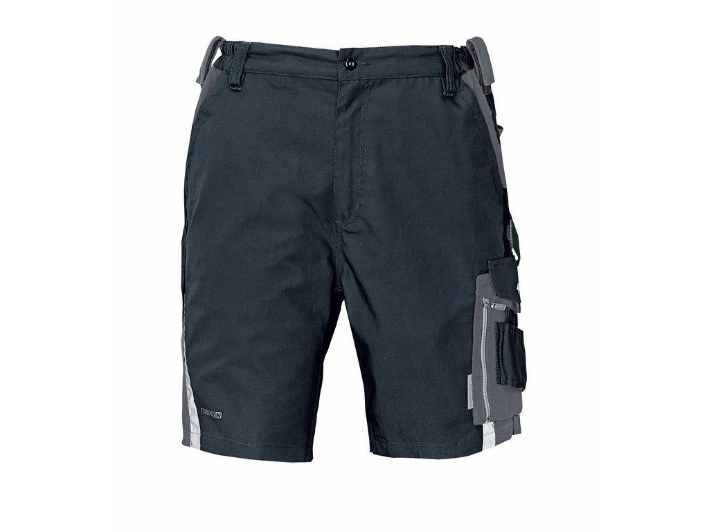 ALLYN pracovní šortky černo-šedé (Velikost/varianta 62)