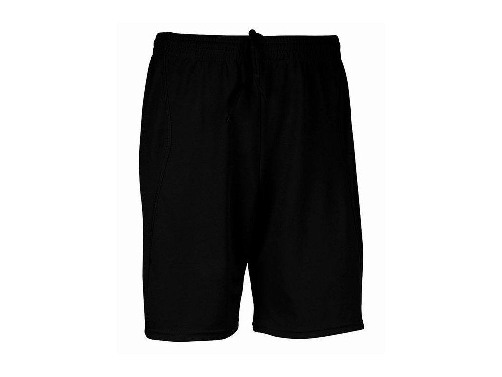 PA103 sportovní šortky černé (Velikost/varianta 60)