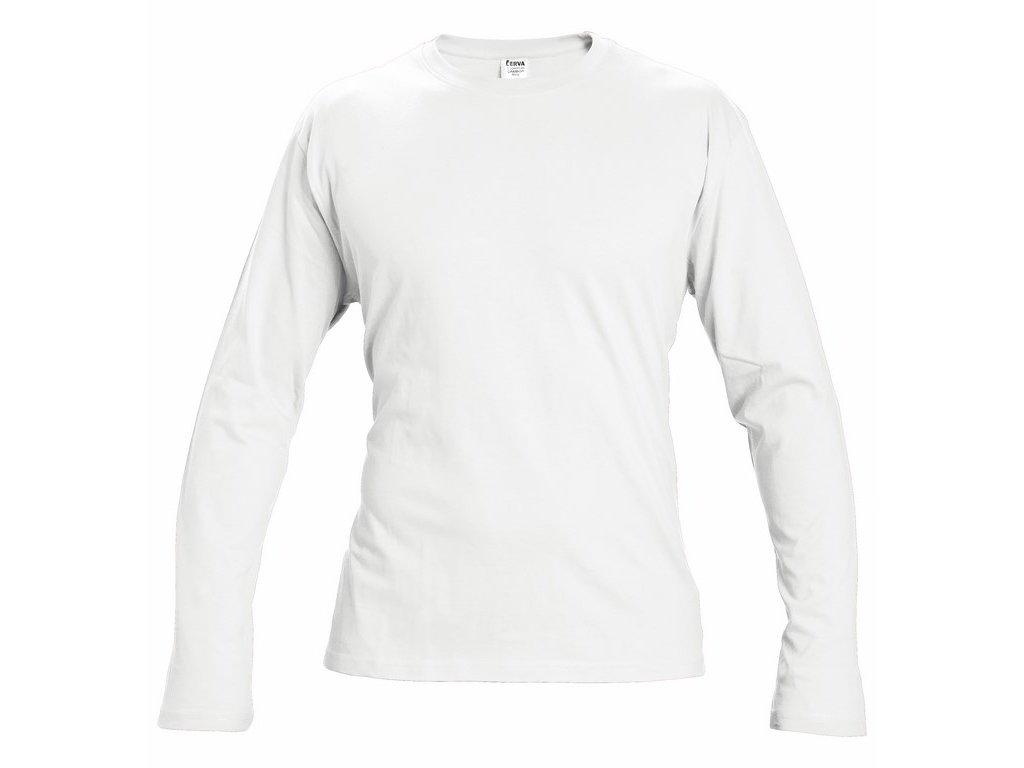 CAMBON Unisex tričko dlouhý rukáv bílé (Velikost/varianta 3XL)