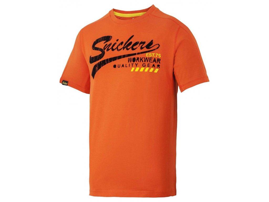 EDITION LIMITED tričko oranžová (Velikost/varianta 2XL)