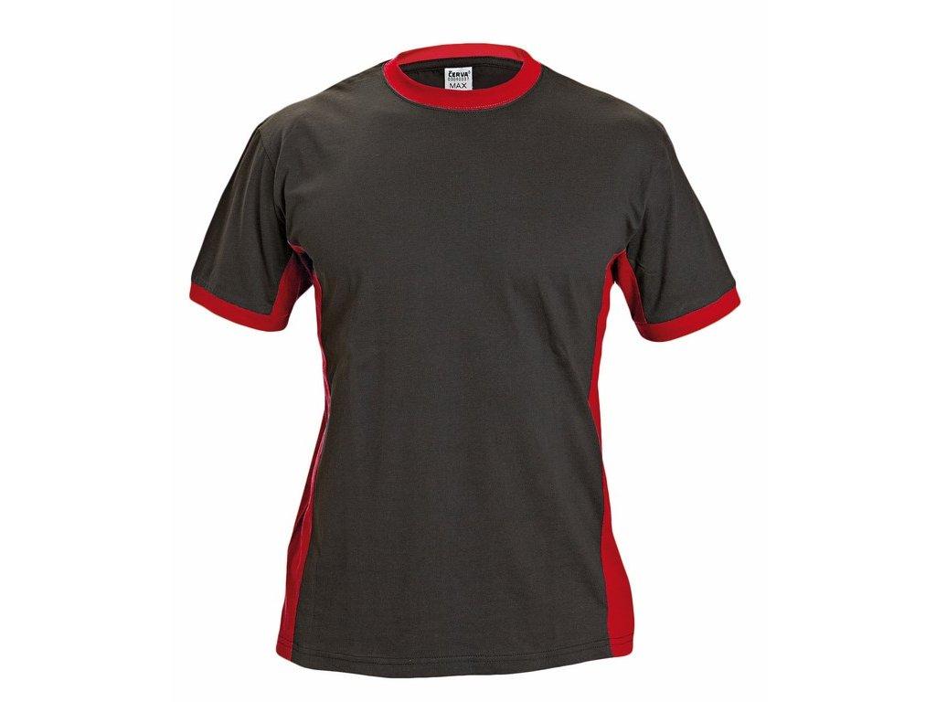 MAX tričko černo-červené (Velikost/varianta S)