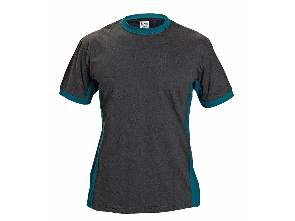 MAX tričko černo-zelená (Velikost/varianta S)