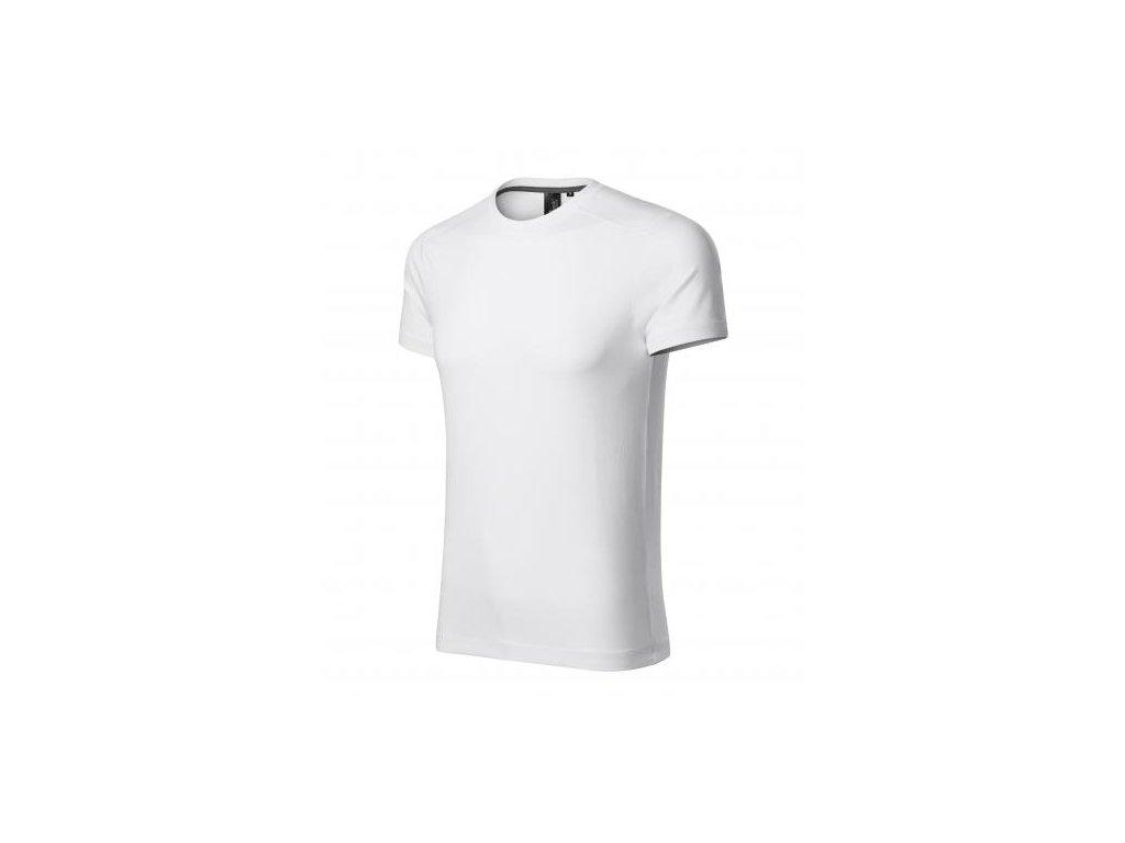 Action tričko pánské bílá