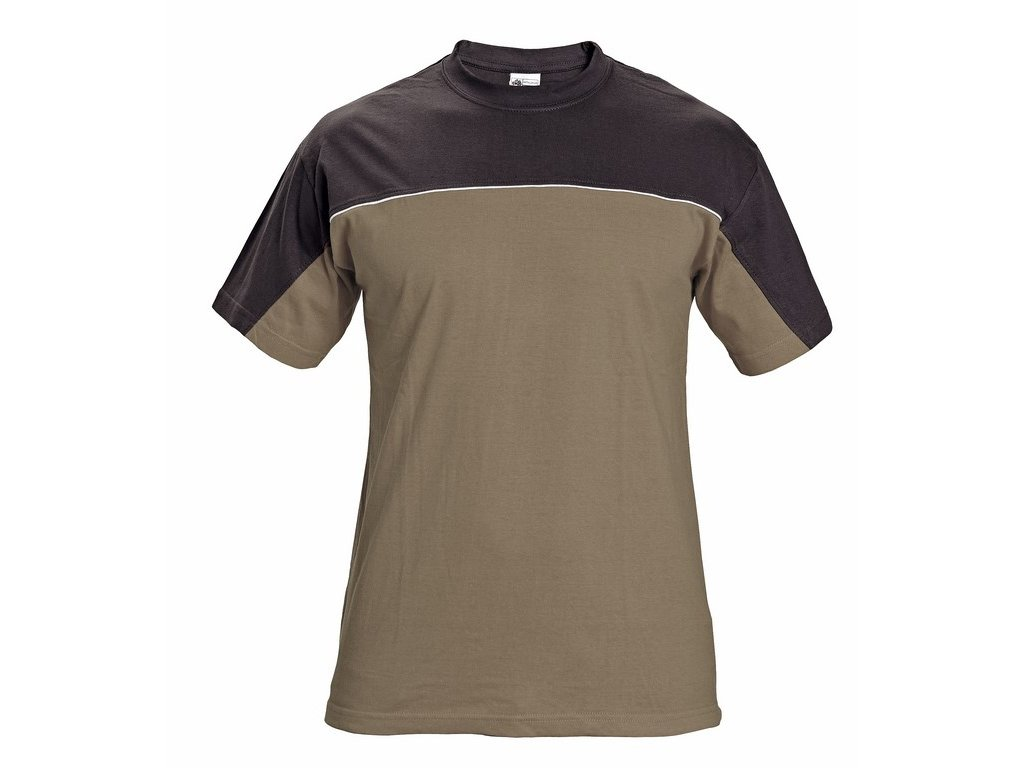 STANMORE tričko hnědé (Velikost/varianta 4XL)