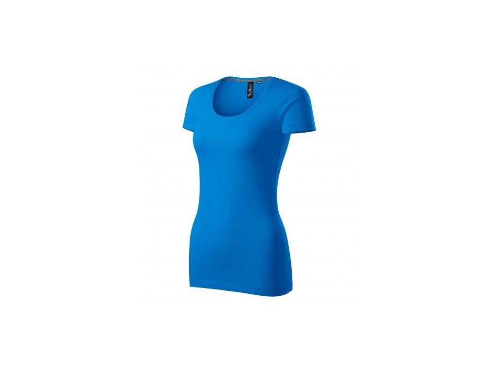 Action tričko dámské snorkel blue