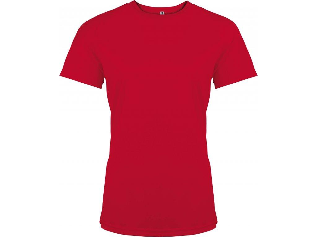 PROACT 439 tričko dámské červené (Velikost/varianta XL)