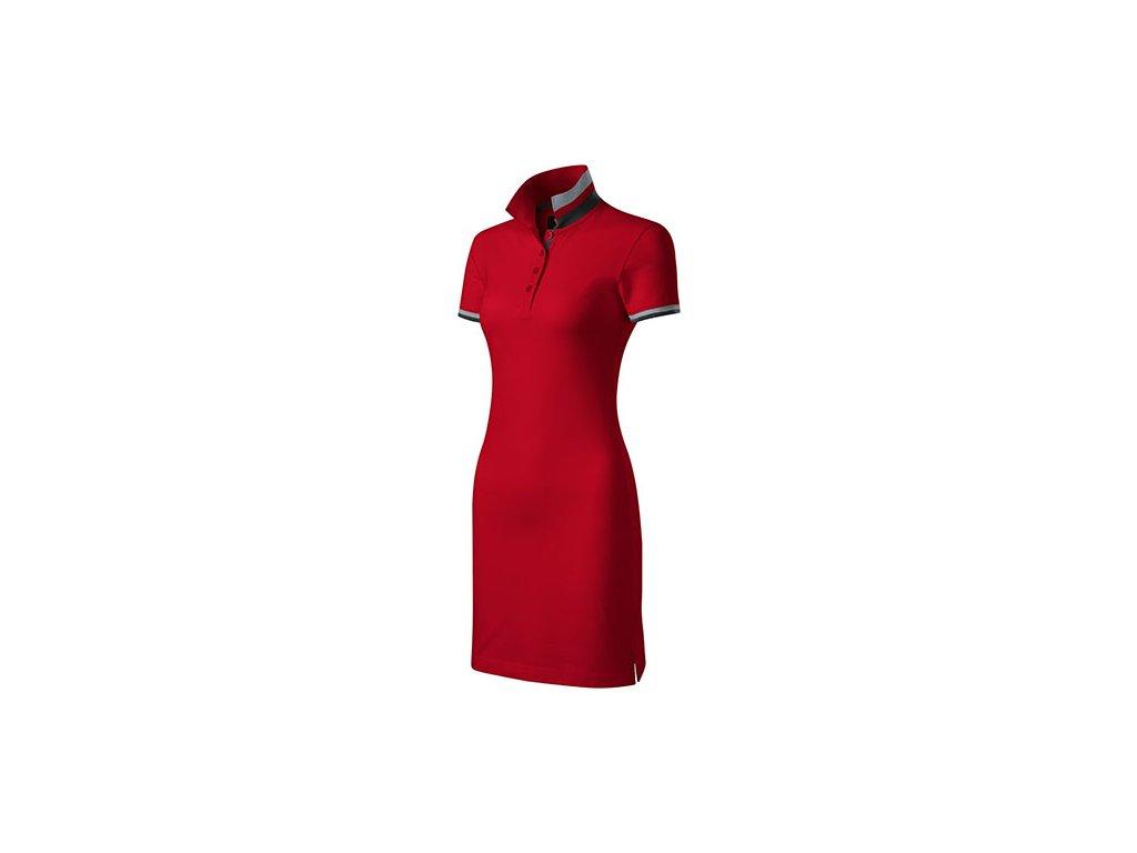 Dress up šaty dámské formula red