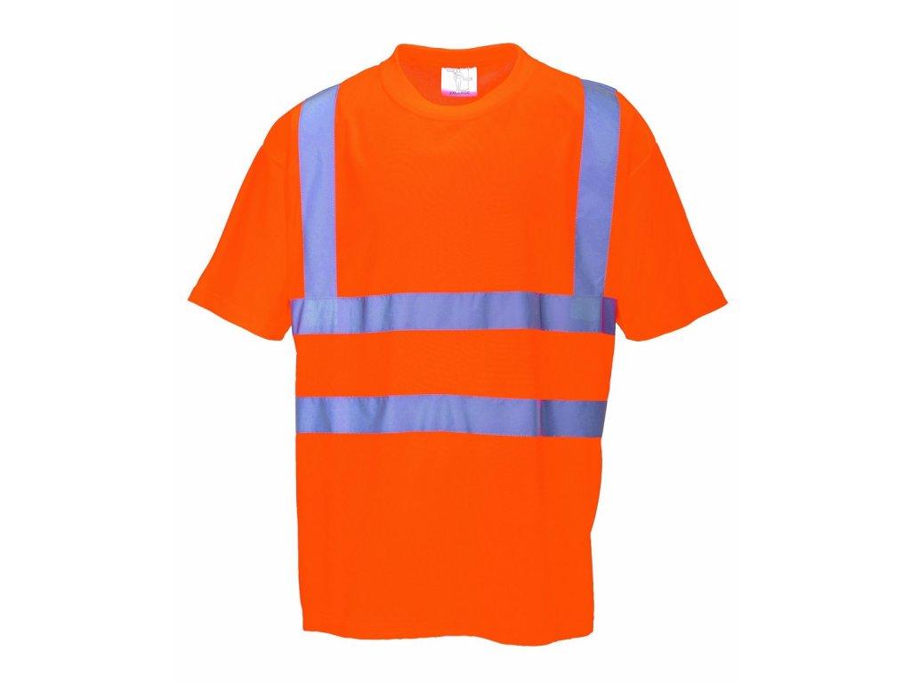 RT23 reflexní tričko oranžové (Velikost/varianta 5XL)