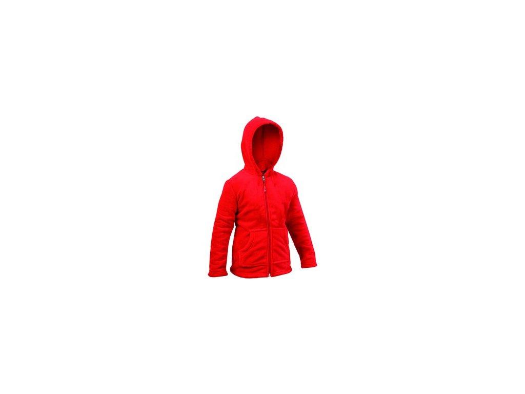 CORAL dětská mikina červená (Velikost/varianta 100)