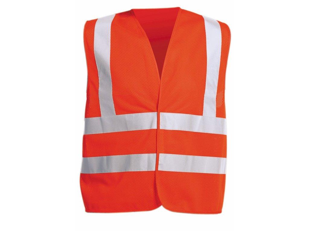 QUOLL reflexní vesta oranžová (Velikost/varianta 2XL)