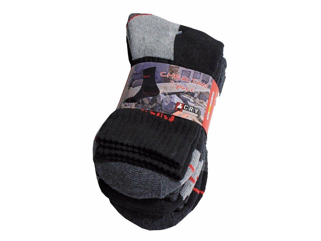 CHERTAN ponožky  3 v 1 mix  barev (Velikost/varianta 45)