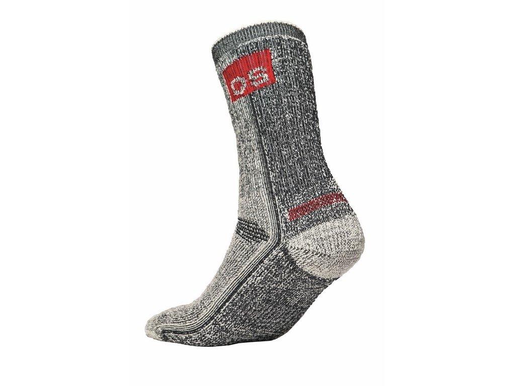 HAMMEL funkční merino ponožky černý melír (Velikost/varianta 46)
