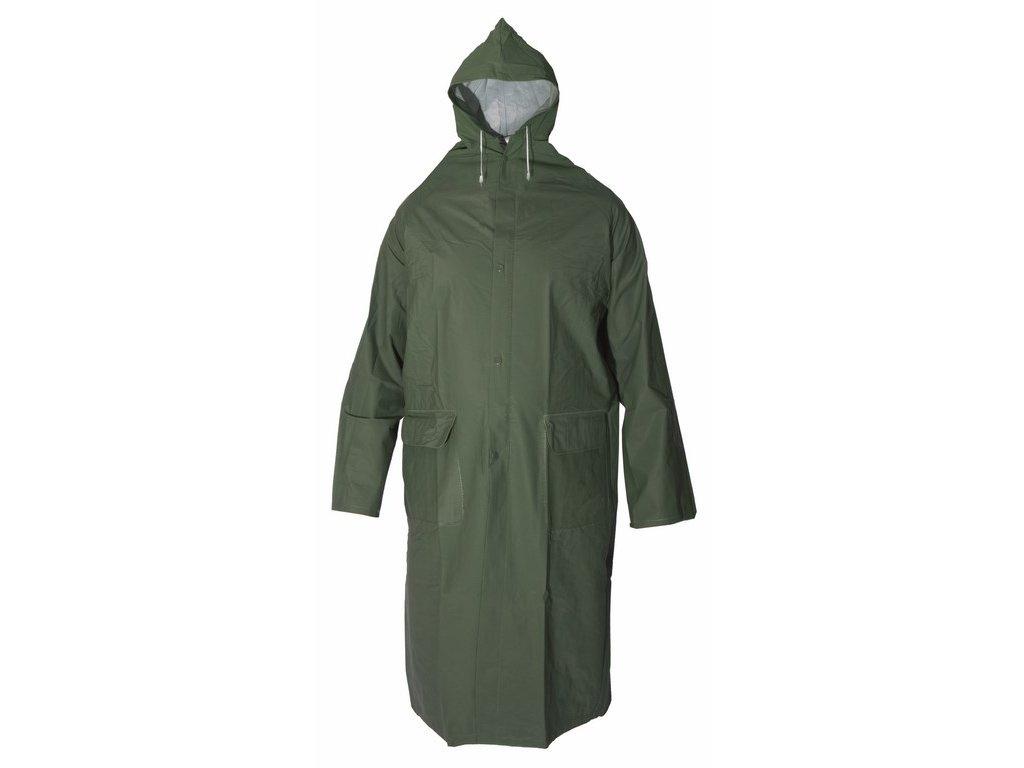 DEREK voděodolný plášť s kapucí zelený (Velikost/varianta 4XL)