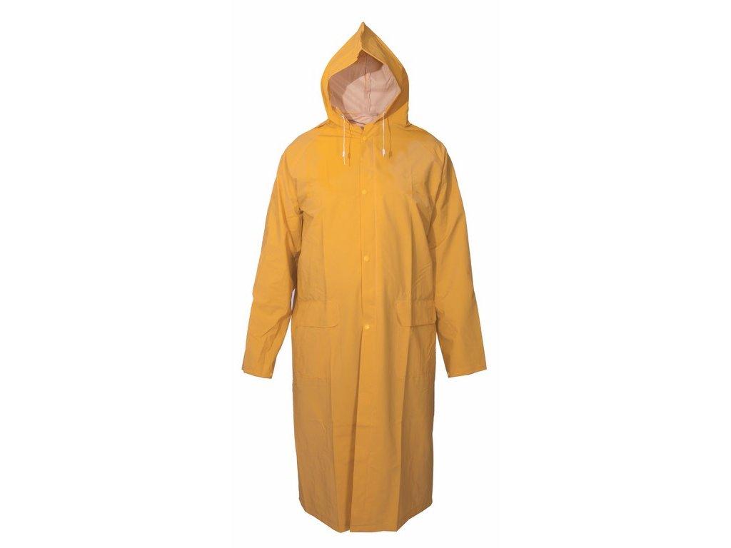 DEREK voděodolný plášť s kapucí žlutý (Velikost/varianta 4XL)
