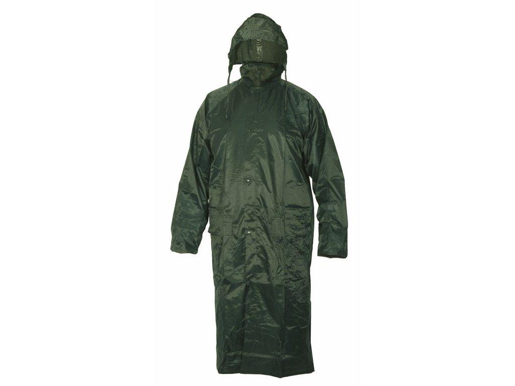 VENTO voděodolný plášť s kapucí zelený (Velikost/varianta 4XL)