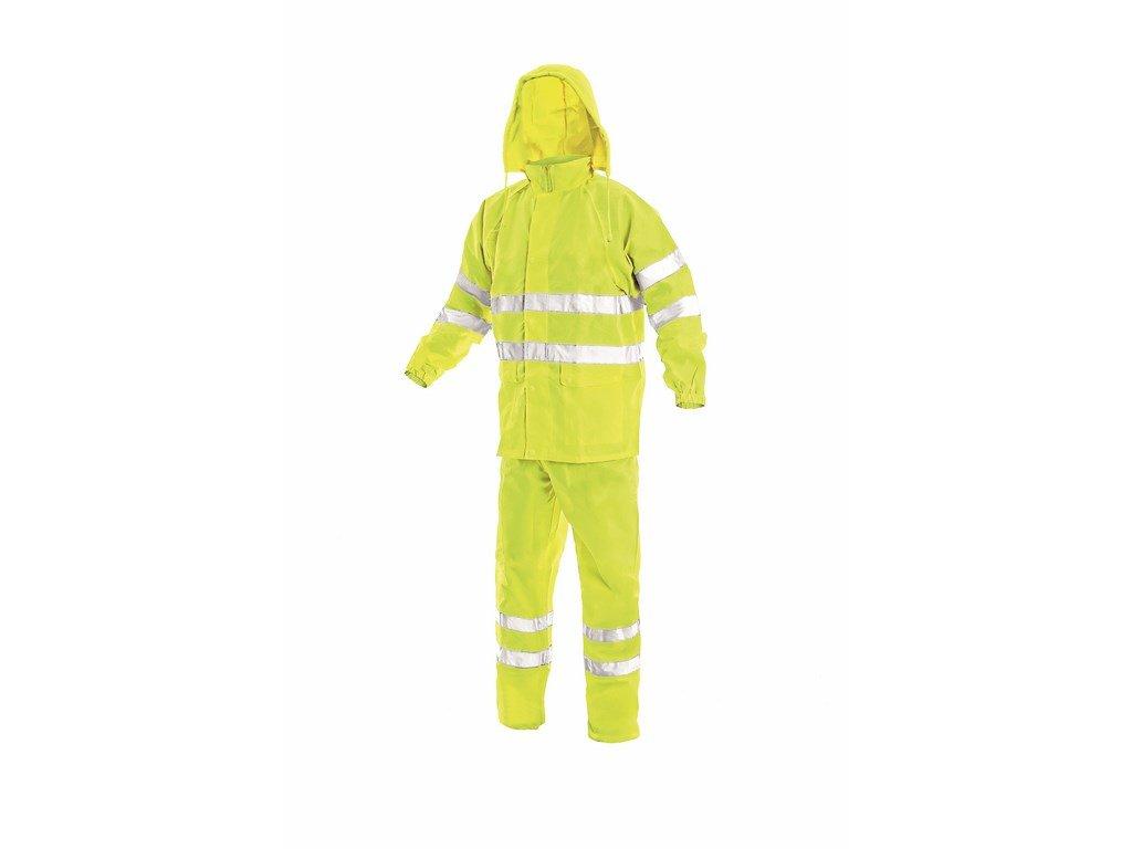 YORK výstražný nepromokavý oděv žlutý (Velikost/varianta 3XL)