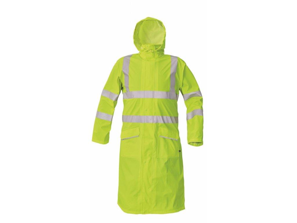 SIRET HV nepromokavý reflexní plášť do deště žlutý (Velikost/varianta 3XL)