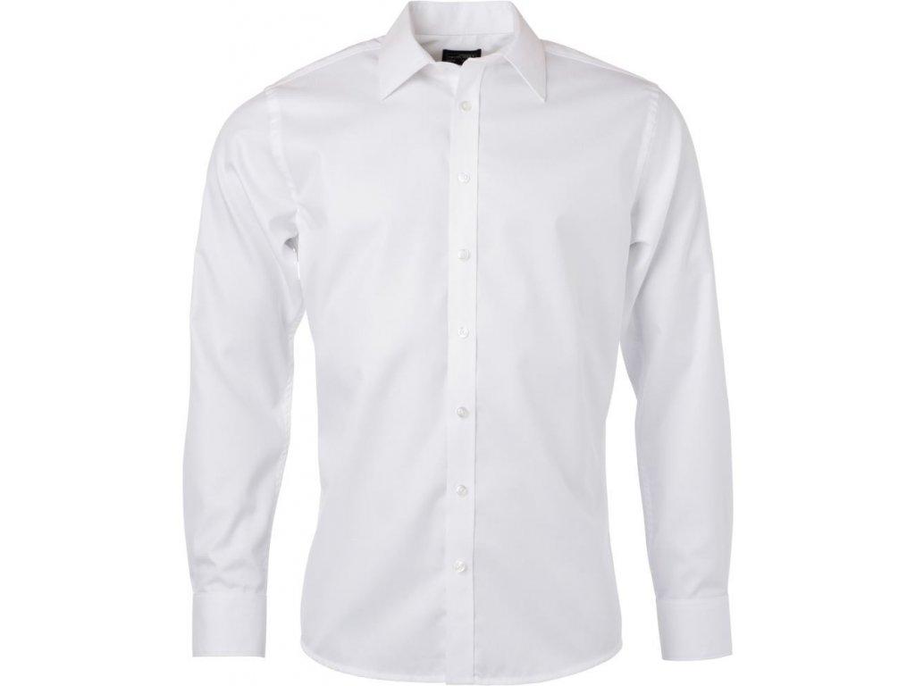 JN 690 pánská košile bílá (Velikost/varianta 4XL)