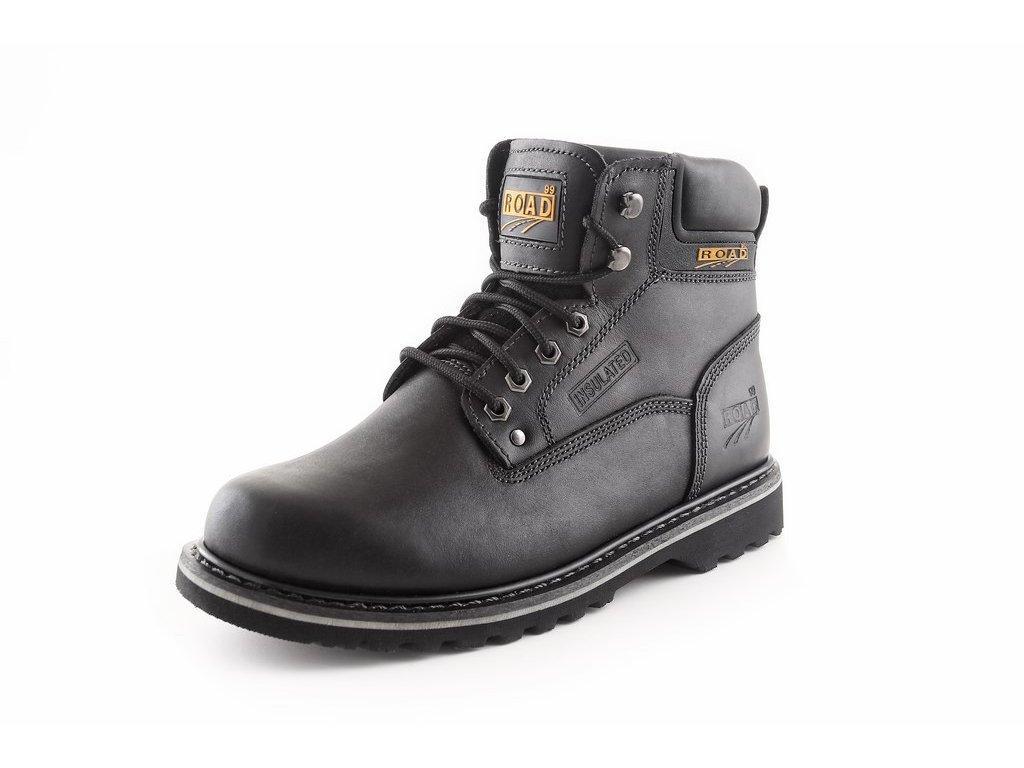 CLARKE O1 farmářka kotníková pracovní obuv černá (Velikost/varianta 48)