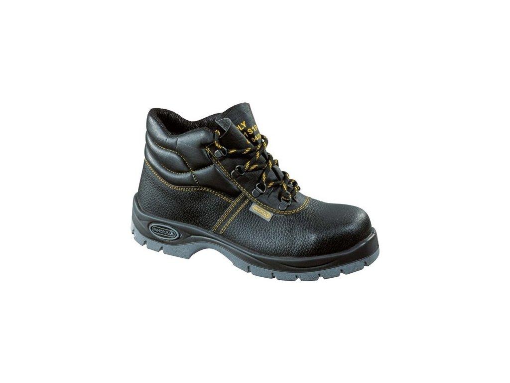 JUMPER 2 S1P pracovní kotníková obuv černá (Velikost/varianta 48)