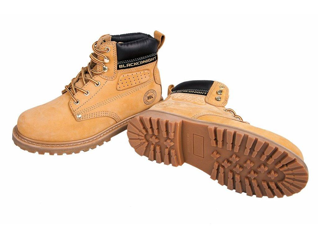 BK HONEY ANKLE pracovní kotníková obuv béžová (Velikost/varianta 48)