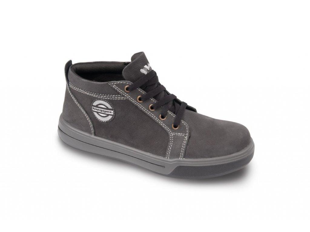 MADISON O1 pracovní polokotníková obuv šedá (Velikost/varianta 47)