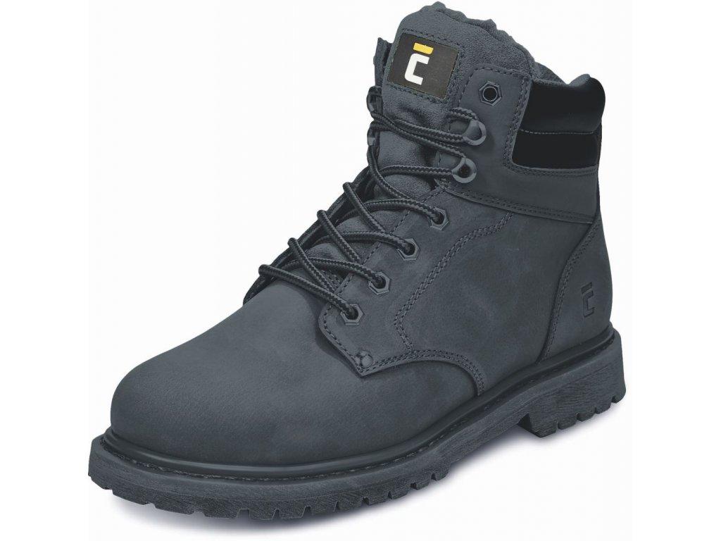 BK HONEY ANKLE pracovní kotníková obuv černá (Velikost/varianta 48)