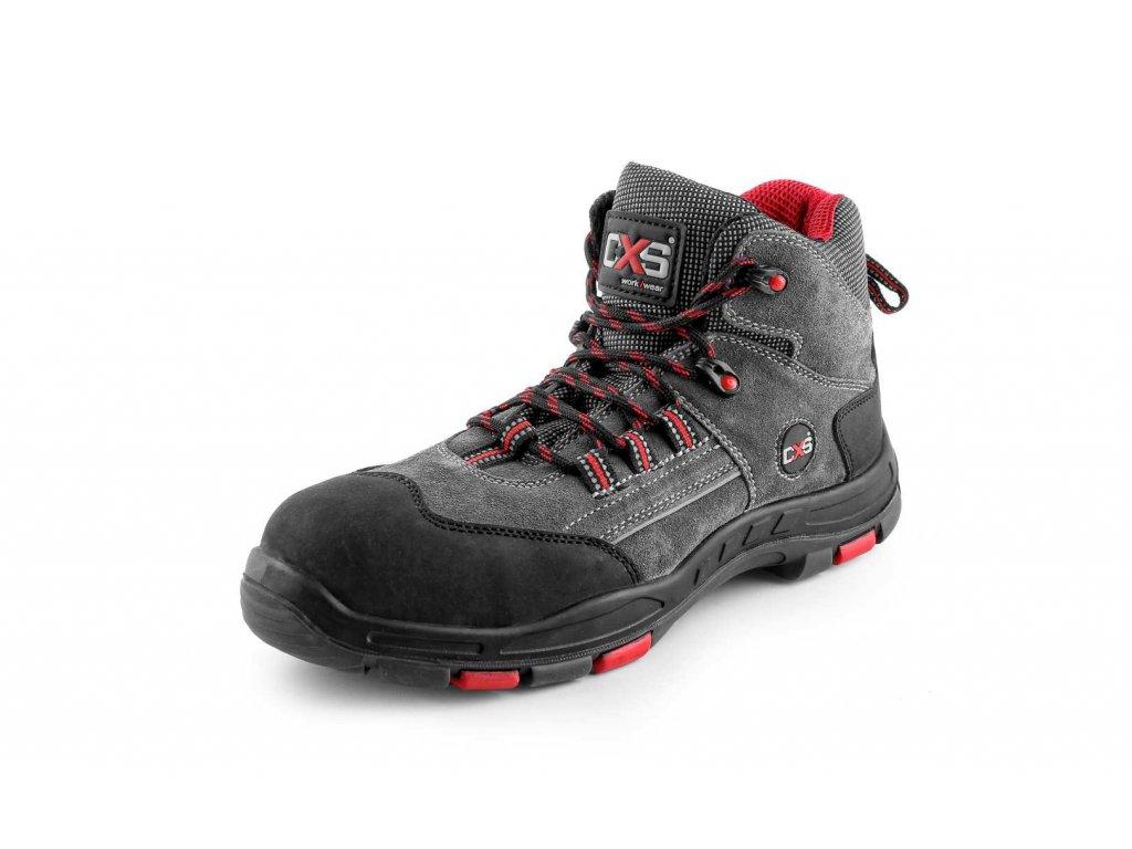 Canis CXS ROCK TRAVERTINE S1P kotníková obuv (Velikost/varianta 48)