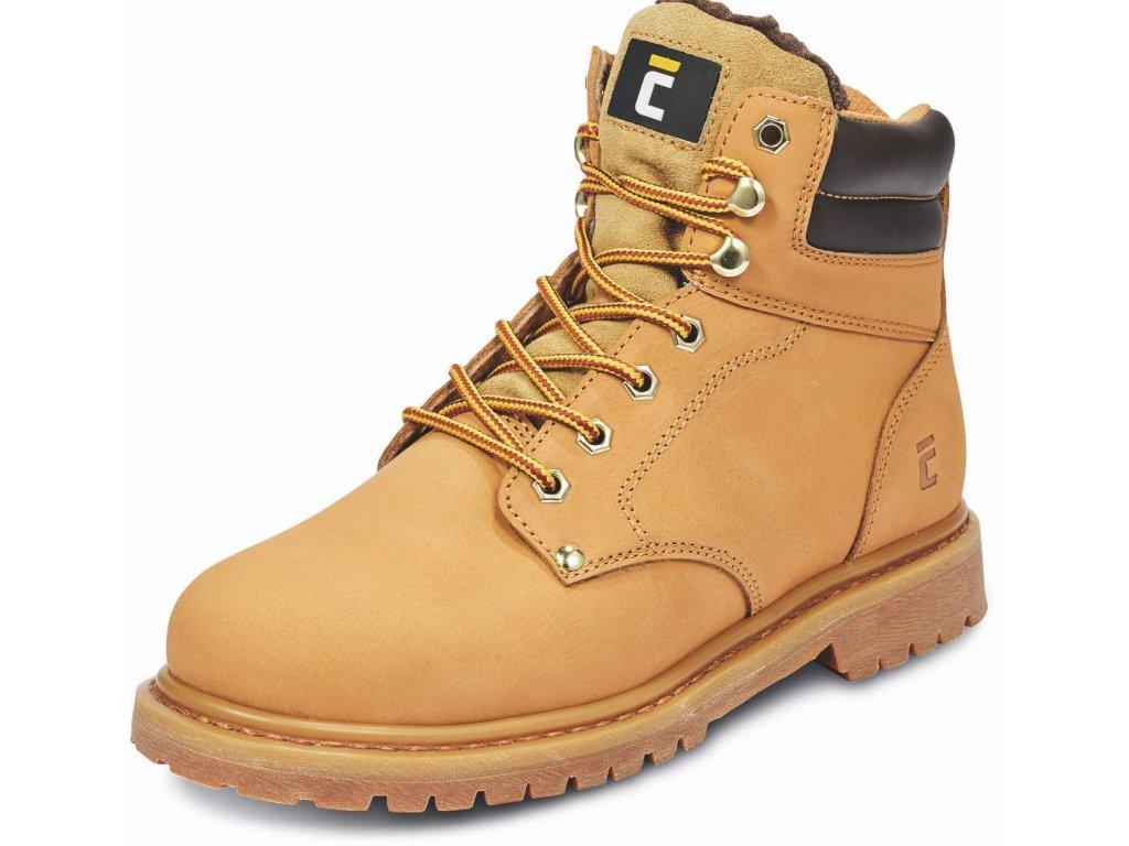 HONEY ANKLE WINTER kotníková pracovní obuv béžová (Velikost/varianta 48)