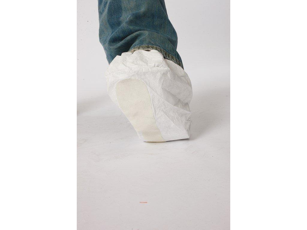 Návlek nízký na obuv uni protiskluzový bílý (Velikost/varianta 46)