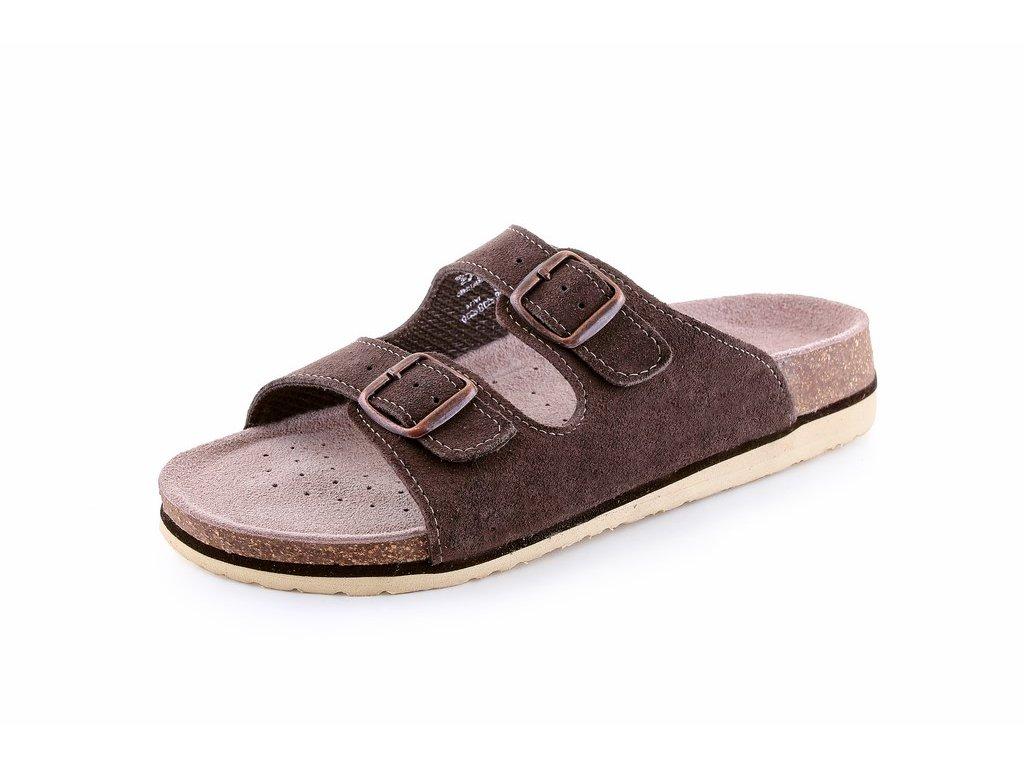 CORK ZETA sandál korkový dámský hnědý (Velikost/varianta 41)