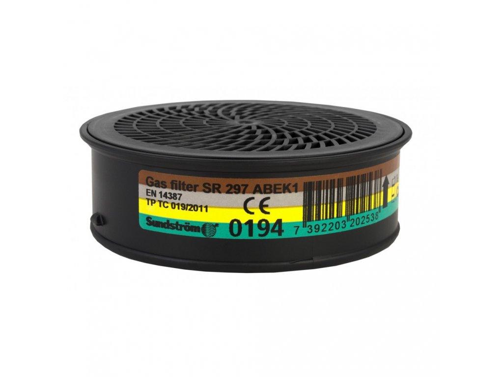 SR 297 ABEK1 filtr proti plynům a výparům (Velikost/varianta UNI)