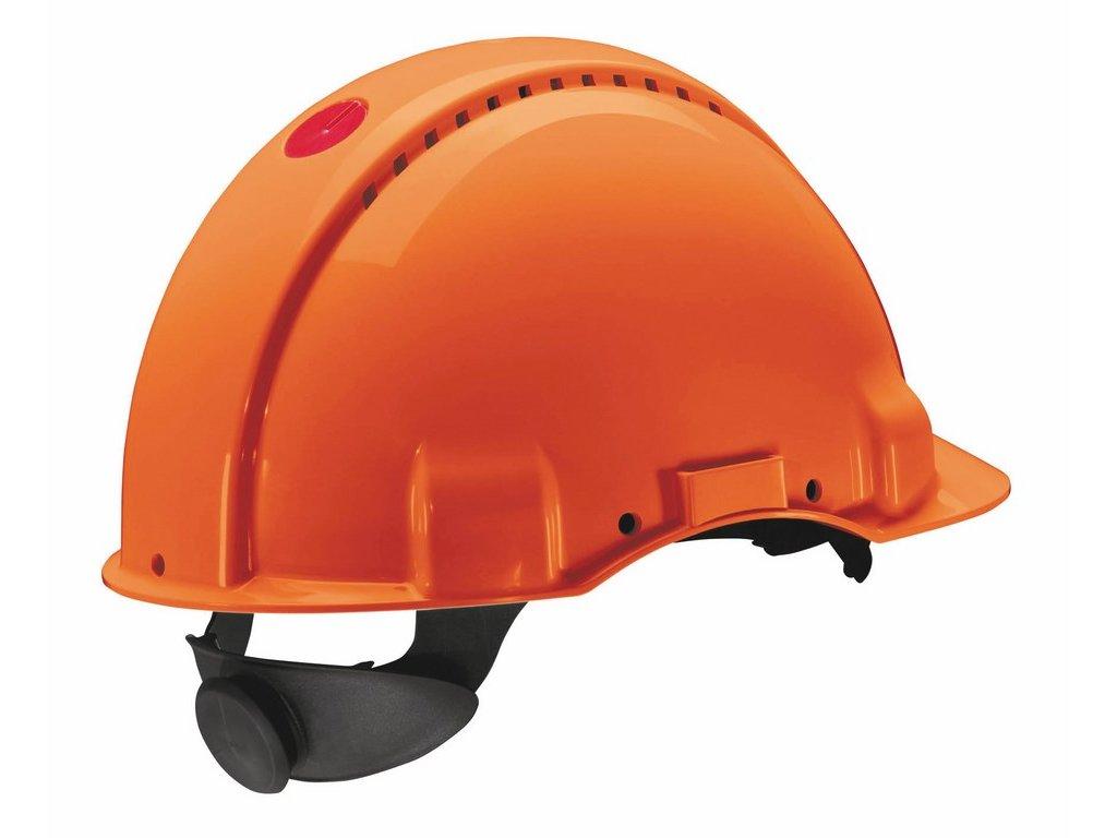 3M G3000 přilba oranžová (Velikost/varianta UNI)