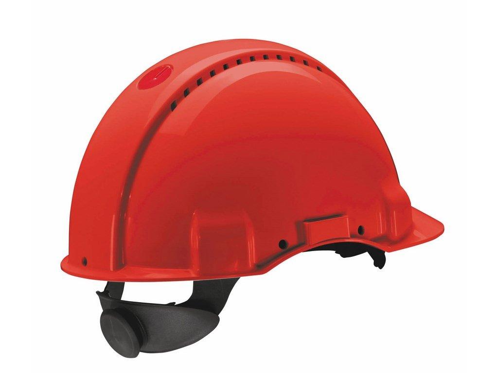 3M G3000 přilba červená (Velikost/varianta UNI)
