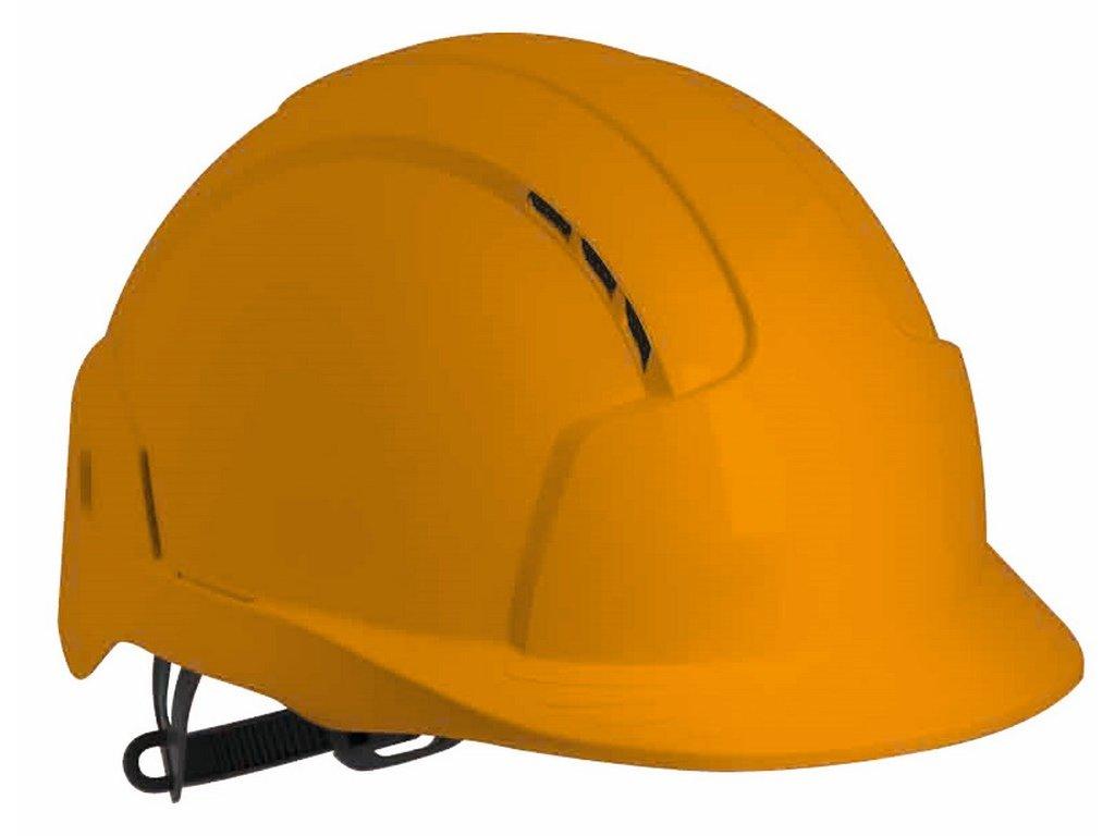 EVO Lite přilba s ventilací oranžová (Velikost/varianta UNI)