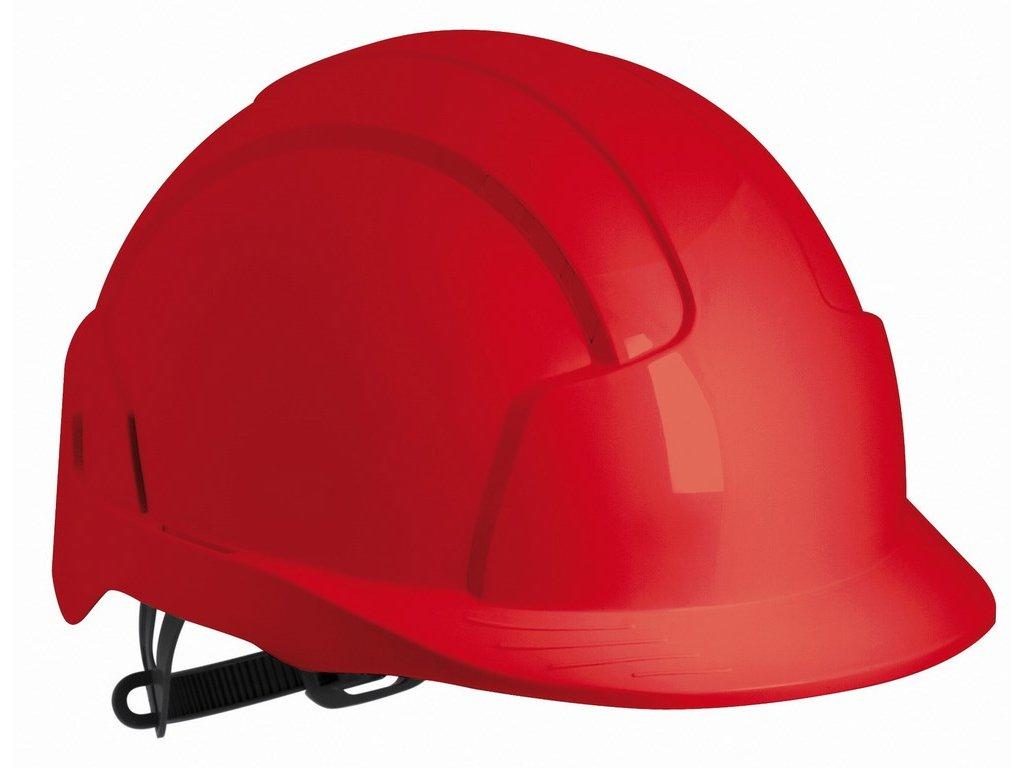EVO Lite přilba s ventilací červená (Velikost/varianta UNI)