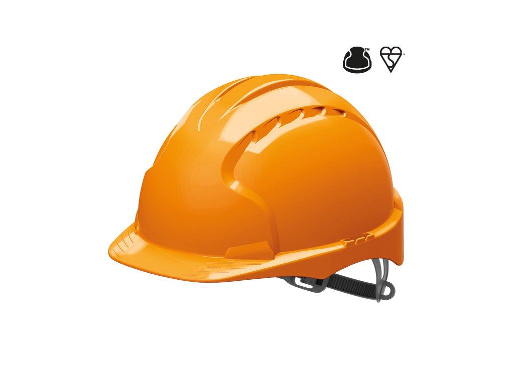 EVO 3 ochranná přilba oranžová (Velikost/varianta UNI)
