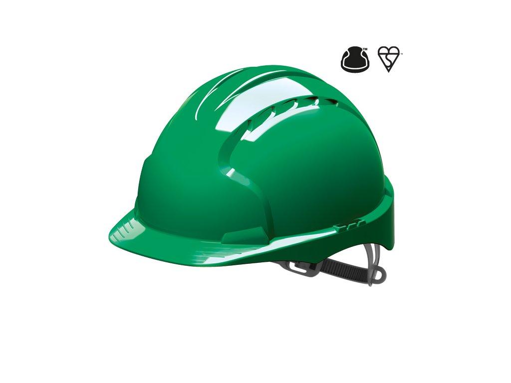 EVO 3 ochranná přilba zelená (Velikost/varianta UNI)