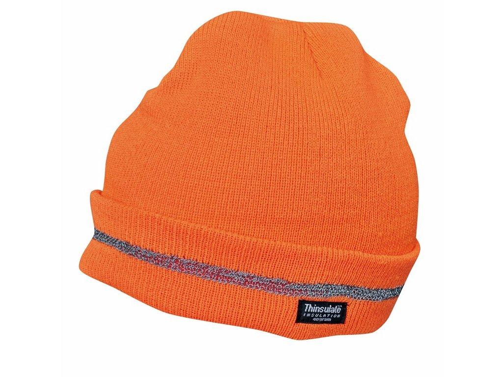 TURIA čepice reflexní oranžová (Velikost/varianta UNI)