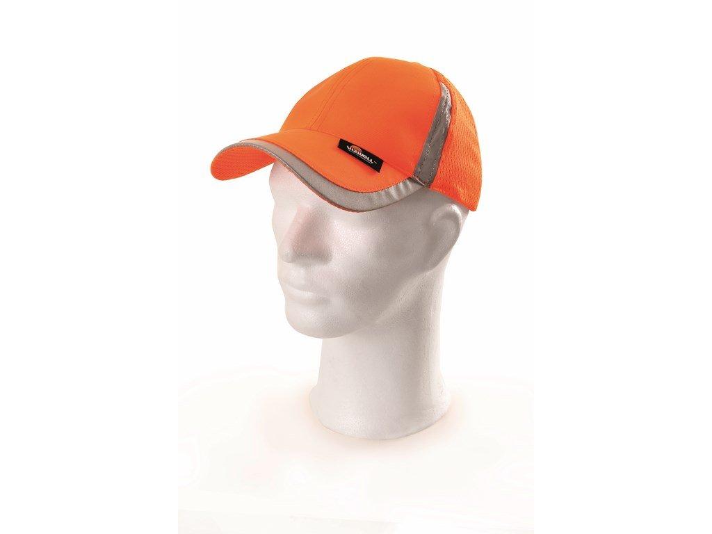 ELY čepice s kšiltem ref.oranž. VWOT229-OR (Velikost/varianta UNI)