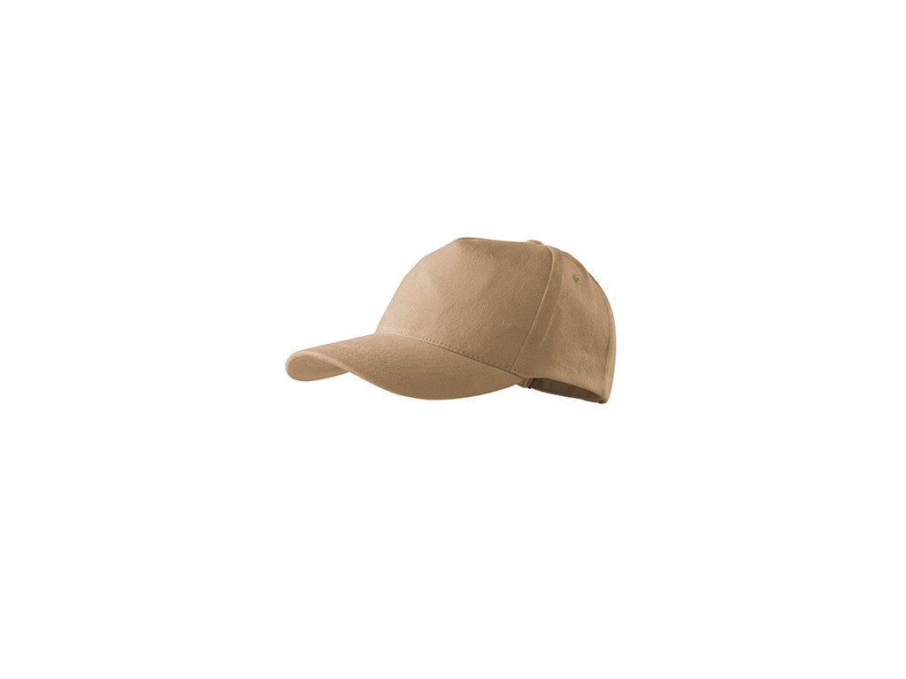 5P čepice unisex písková