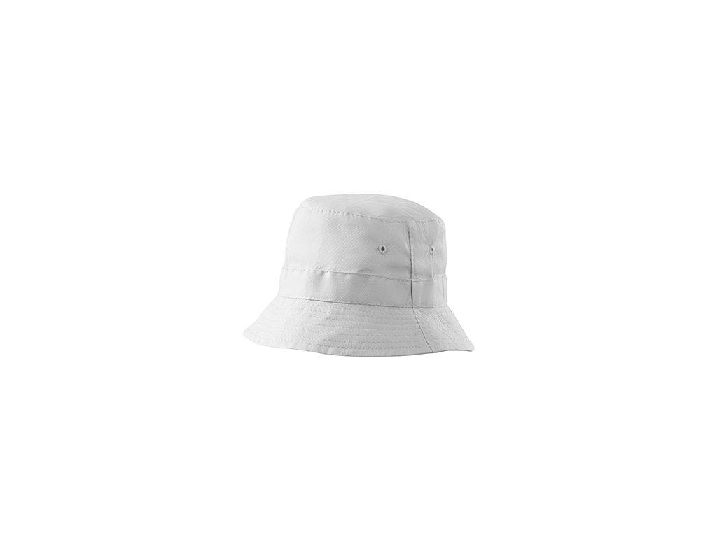 Classic klobouček unisex bílá
